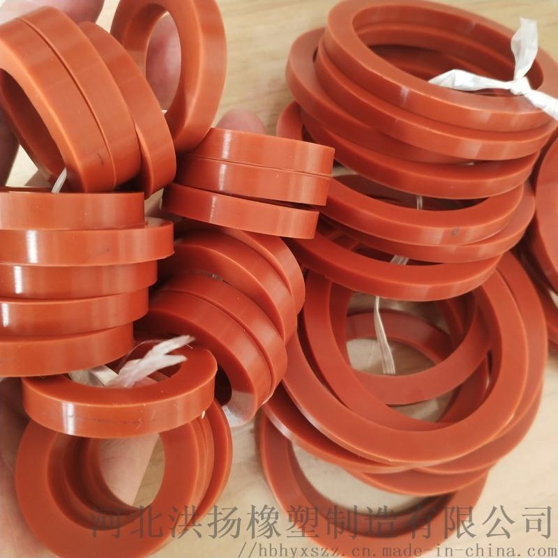 河北耐高溫矽膠墊廠家 圓形矽膠密封墊 矽膠墊定製