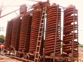 煤矿螺旋溜槽重力选矿溜槽螺旋溜槽原理|溜槽生产厂家