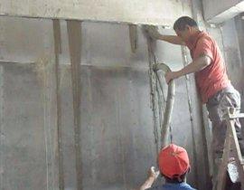 驰龙公司CL轻质墙体浇注技术突破  难题