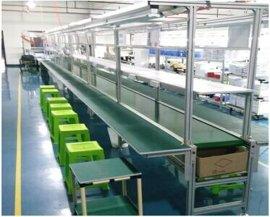 线材生产流水线,电子生产流水线,电子厂生产线,皮带式流水线