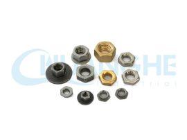 广东专业生产非标美制开槽螺母六角铜螺母批发厂家