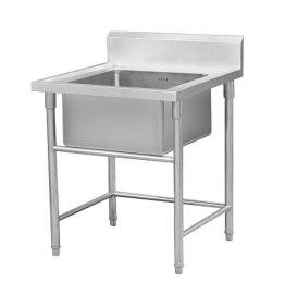 广州厂家供应不锈钢单星盆洗物台水槽