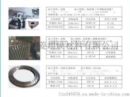 H13模具钢/cr12模具钢/cr12mov淬火钢精车耐磨cbn刀具