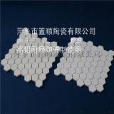 常溫粘結馬賽克10x10x3-10氧化鋁耐磨陶瓷襯片
