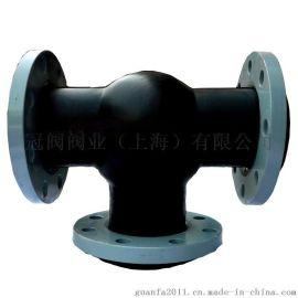 三通可曲挠橡胶软接头橡胶软连接橡胶接头橡胶膨胀节橡胶补偿器
