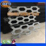 奧迪新款外牆板裝飾網鋁板衝孔網鋁板門頭裝飾網廣告牌專用網