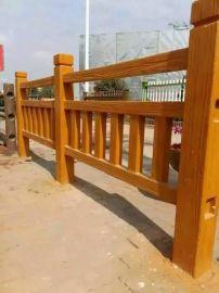 仿木樹樁,仿木欄杆河堤橋樑棧道,園林園藝