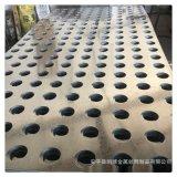 工廠衝孔板廣告牌圓孔裝飾衝孔幕牆折彎噴塑穿孔鋼板商場吊頂孔網