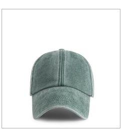 男士棒球帽新款水洗牛仔布鸭舌帽定做广告帽广告帽厂家批发帽子