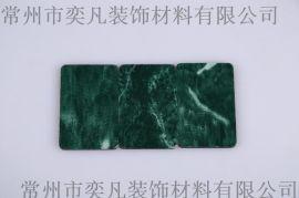 常州外牆鋁塑板 優質內外牆裝飾材料 大花綠色 量大從優 批發