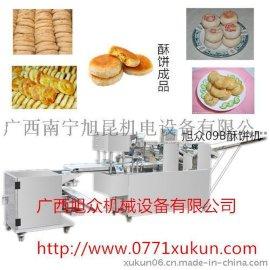 广西酥饼机,制作绿豆酥饼机产量高