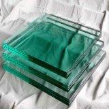 供應優質3-19mm 建築, 透明鋼化玻璃, 浮法白玻