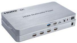 索飞翔4K高清码流仪广告机 一件代发 十路HDMI播放机—V1.4