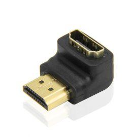 90度 HDMI A公转A母高清转接头 4K*2K