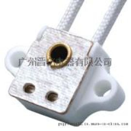 UL认证G5.3卤素陶瓷灯座圆形瓷灯头环保SGS