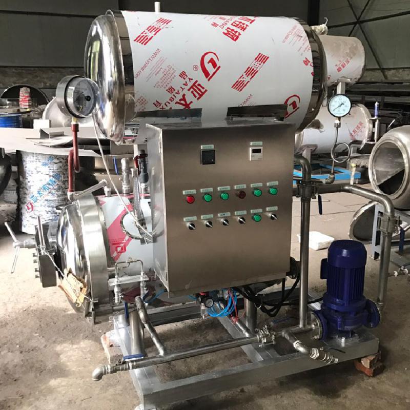 春泽机械出售新款电加热双层高温高压杀菌锅