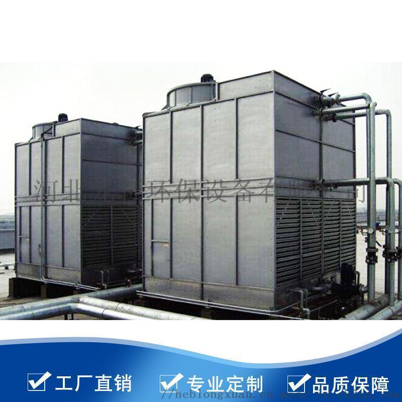 方形逆流式玻璃钢冷却塔、DFNDP-100冷却塔