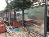 钢围挡广告价值大、光明大型围挡钢板围挡