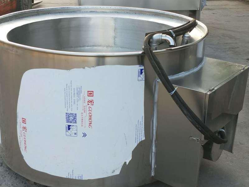 商用猪头脱毛机 1000型电加热导热油家禽松香锅