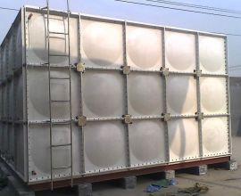 玻璃钢水箱SMC模压水箱定制各种规格