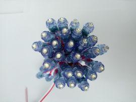 高亮度超防水LED穿孔灯生产厂家直销定做LED12v9mm发光字穿孔灯串