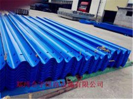 供应山西波形护栏板厂家 镀锌喷塑防撞护栏 郑州合宇道路