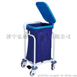 脚踏污物车弘盛D17医疗废物分类污物车