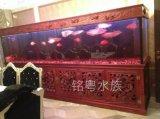合肥鱼缸工厂直批实木鱼缸 鱼缸价格