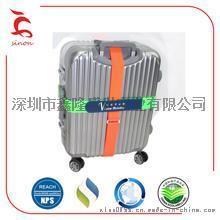 深圳工厂供应 拉杆箱绑带 强拉力 行李箱绑带 密码箱绑带魔术贴