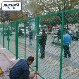 美格网护栏 菱形孔焊接框架护栏 隔离网