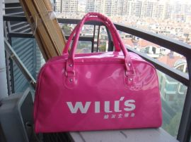 上海方振订做健身包行李包威尔健身包PU包健身包训练包