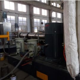 双阶单螺杆PP造粒机 塑料造粒机直供