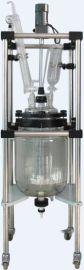 玻璃双层反应釜(2L-100L)