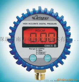 金属车载充气泵汽车充气泵打气泵车用轮胎充气泵数显表数字压力表