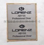 制作供应分体不锈钢标牌蚀刻, 超薄金属腐蚀标签, 不锈钢书签