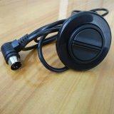 90度弯头黑色圆形大按键有线手控器控制单电机升降电动推杆控制器