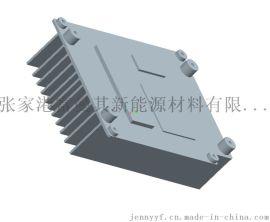 6063 T5 散热器铝型材 电子电器散热器铝合金型材