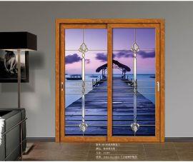 麥豪思品牌專業定制鋼化玻璃推拉門 廚房玻璃移門客廳推拉門