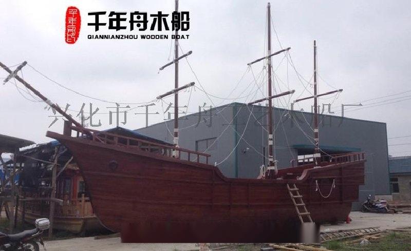 景觀船生產廠家 風景船 海盜木船定做 木質景觀船、仿古景觀船、戶外景觀船及遊樂景觀船,陸地海盜景觀船定製生產