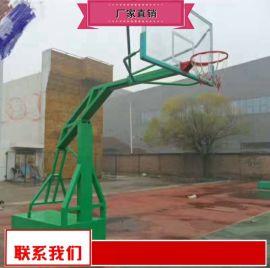 固定篮球架出厂价 钢化玻璃篮球架厂家供应