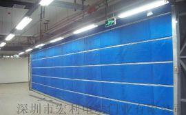 前海快速门生产厂家南山pvc堆积门