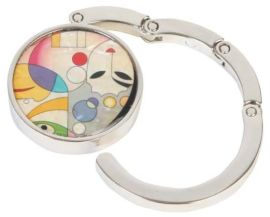 锌合金折叠时尚易携带挂包钩(3666)