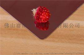 不锈钢板表面处理 厂家发酒红不锈钢拉丝板