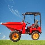 载重1吨柴油四轮车 高效施工前卸翻斗车