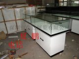 木质烤漆珠宝展示柜透明玻璃展示柜珠宝展览陈列柜