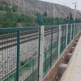 铁路防护网片-金属栅栏网片-铁路栅栏网片