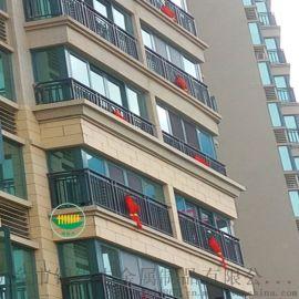 郑州阳台护栏厂家河南喷塑阳台护栏|组装锌钢护栏