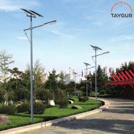 泰格LED照明,6米太阳能路灯,户外路灯杆。