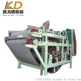 带式污泥压榨脱水机 对辊挤压式尾矿污泥脱水设备