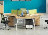 膠板辦公桌02A-08款 綠色環保實木顆粒板